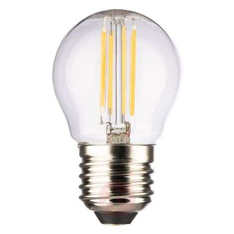 LED-Mini Globe E27 4 W lämmin valkoinen 470 lm