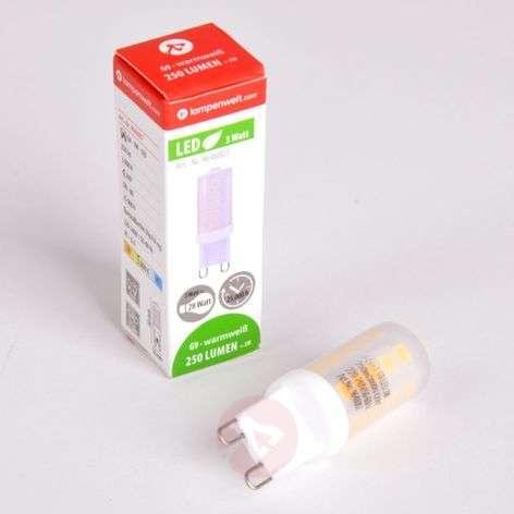 LED-nastakantalamppu G9 3,5W 830 himmennettävä