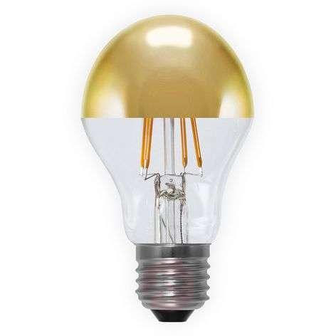 LED-pääpeililamppu E27 4W 926, kullanvärinen