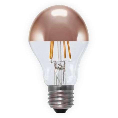 LED-pääpeililamppu E27 4W 926, kupari