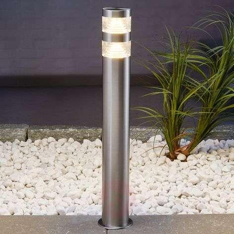 LED-pihatievalaisin Lanea ruostum. terästä, 60 cm