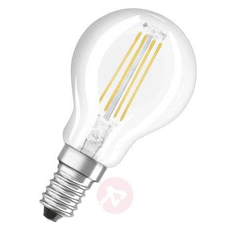 LED-pisaralamppu E14 4 W, lämmin valkoinen, 470 lm