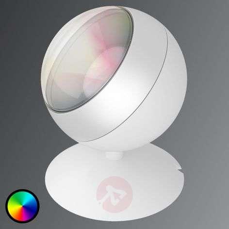 LED-pöytälamppu Quest WiZ-teknologialla, valkoinen