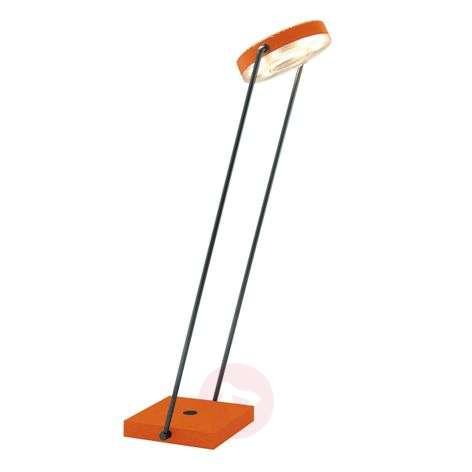 LED-pöytävalo Tune-TS kosketushimmennin oranssi