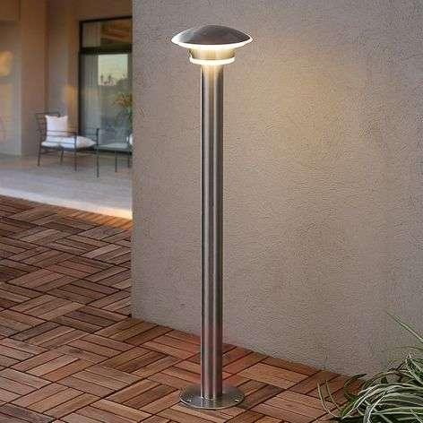 LED-pollarivalaisin Lillie, ruostum. terästä