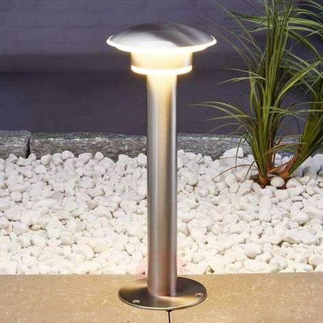 LED-pollarivalaisin Lillie ruostumatonta terästä