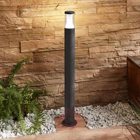 LED-pylväsvalaisin Amily, tummanharmaa, 90 cm