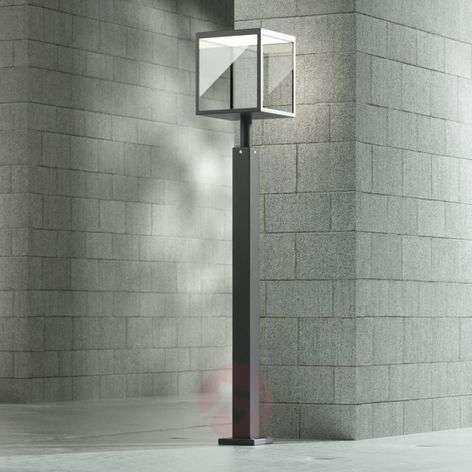LED-pylväsvalaisin Cube, grafiitinharmaa, IP54