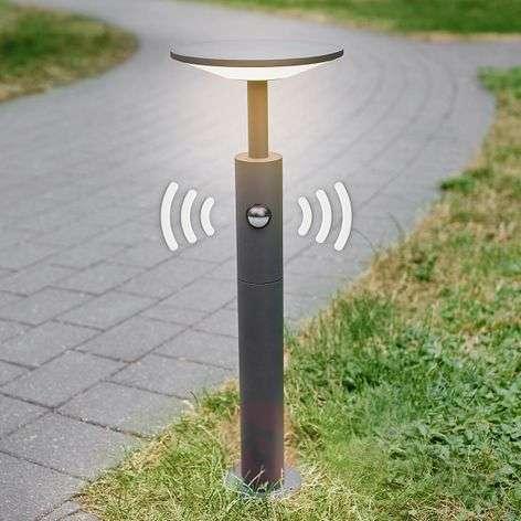 LED-pylväsvalaisin Fenia liiketunnistimella, 60 cm