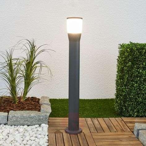 LED-pylväsvalaisin Melanie, tummanharmaa, alumiini