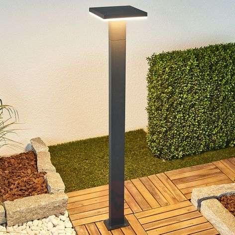 LED-pylväsvalo Olesia, tummanharmaa