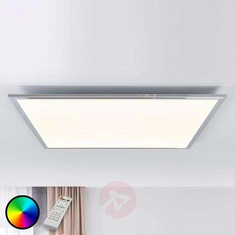 LED-RGB-kattolamppu Carina kaukosäätimellä