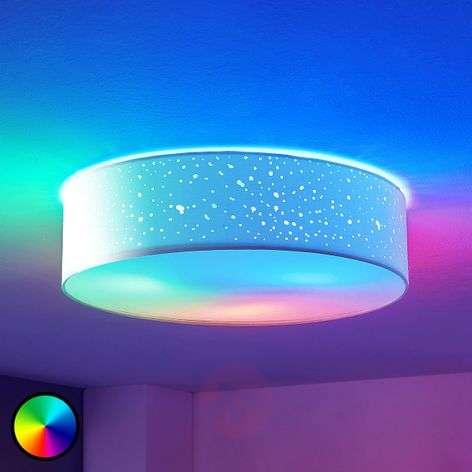 LED-RGB-kattovalaisin Alwine, asennus kattoon