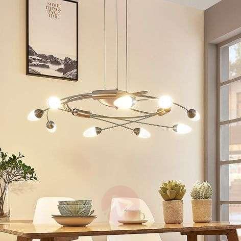 LED-riippuvalaisin Deyan, 9-lamppuinen himm.