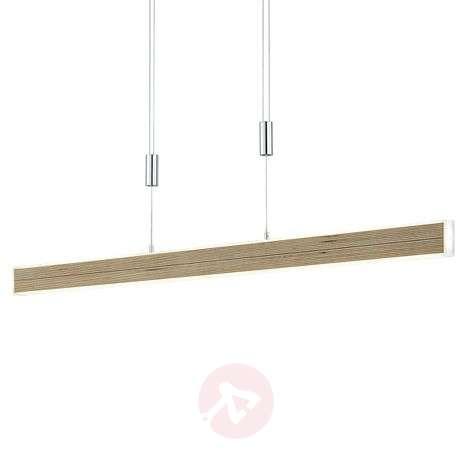 LED-riippuvalaisin Kiruna Wood liikehimmentimellä