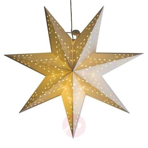 LED-roikkuva tähti Cellcandle valk. hiutalekuvio-1523432-31