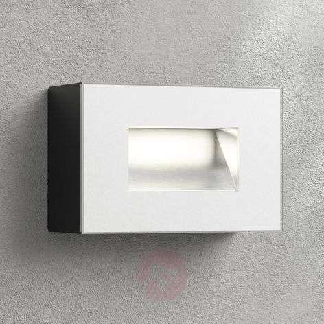 LED-seinäuppovalaisin Jody, 12 cm, alumiini