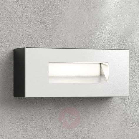 LED-seinäuppovalaisin Jody, 19 cm, alumiini