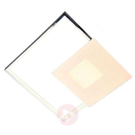 LED-seinävalaisin Anays polykarbonaatista kulmikas