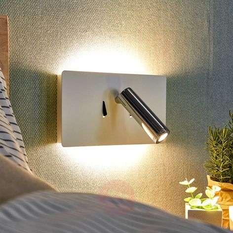 LED-seinävalaisin Elske, jossa lukuvalo