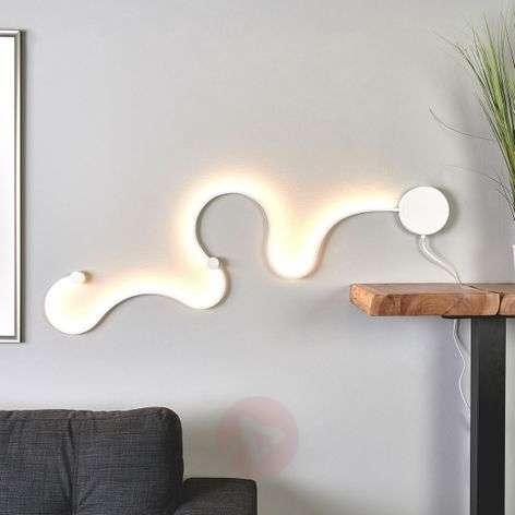 LED-seinävalaisin Sandor ainutlaatuisella valolla