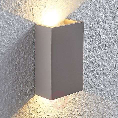 LED-seinävalo Cataleya betoni ylös-alas 10x16cm