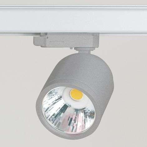 LED-spotti GA 017 Casa 3-vaihekiskoon, 13W, hopea