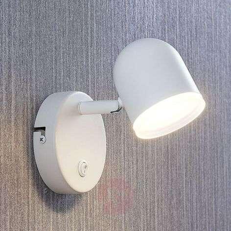 LED-spotti Ilka, kytkin, valkoinen, 1-lamppuinen
