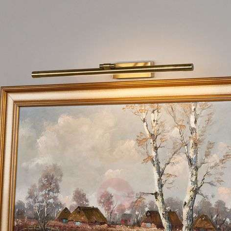 LED-tauluvalaisin Merte, antiikkimessinki