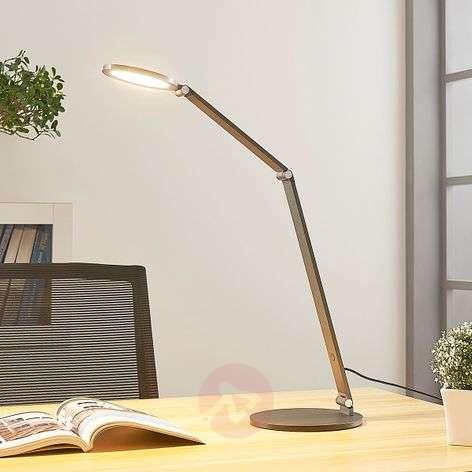 LED-työpöytälamppu Mion himmentimellä
