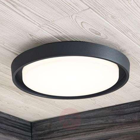 LED-ulkokattovalaisin Birta, pyöreä, 34 cm