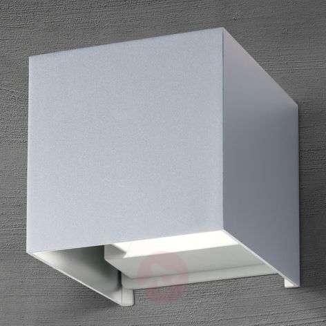 LED-ulkoseinälamppu Cube alumiini