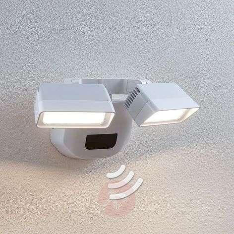 LED-ulkoseinälamppu Nikoleta, anturi, 2-lamppuinen