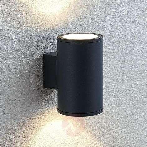 LED-ulkoseinälamppu Visavia, kaksilamppuinen