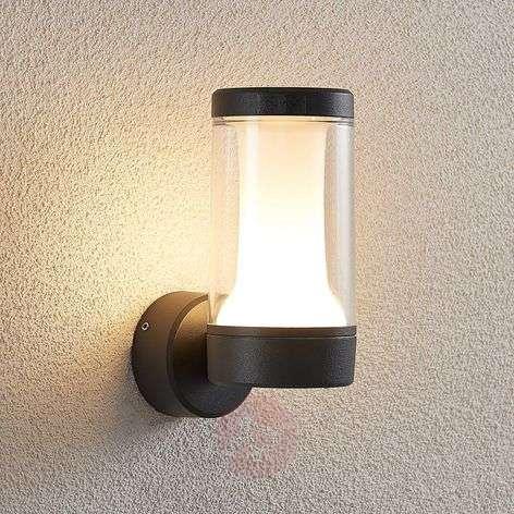 LED-ulkoseinävalaisin Amily, tummanharmaa