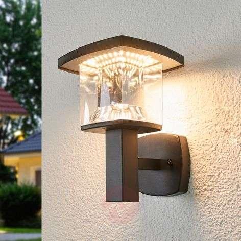 LED-ulkoseinävalaisin Askan, ruostumaton teräs