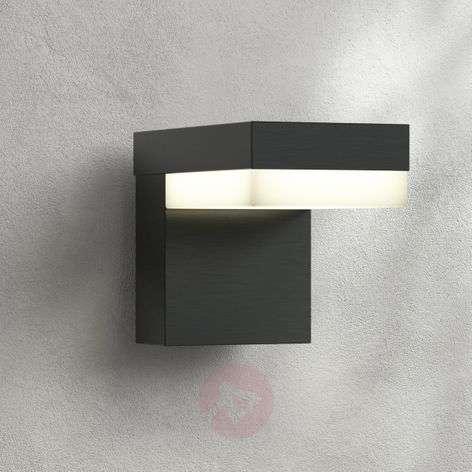 LED-ulkoseinävalaisin Dionys, tummanharmaa