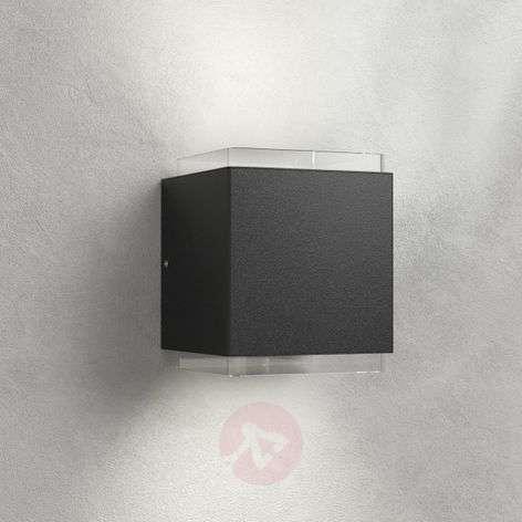 LED-ulkoseinävalaisin Ekin, tummanharmaa, 2-lampp.