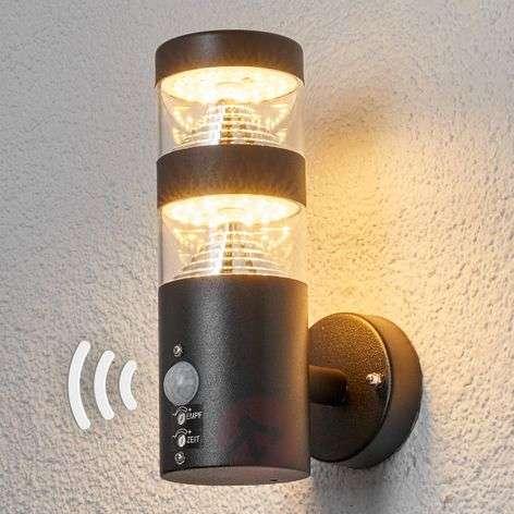 LED-ulkoseinävalaisin Lanea tunnistimella