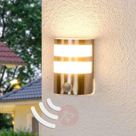 LED-ulkoseinävalaisin Lucja liiketunnistimella