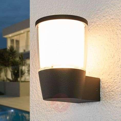 LED-ulkoseinävalaisin Melania muovivarjostimella
