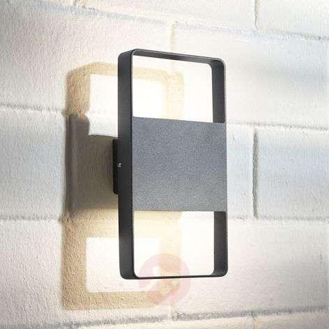 LED-ulkoseinävalaisin Palina, 2-lamppuinen