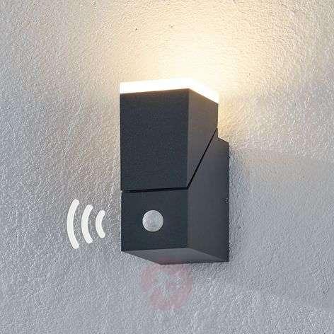 LED-ulkoseinävalaisin Sally, 1-lamppuinen, sensori