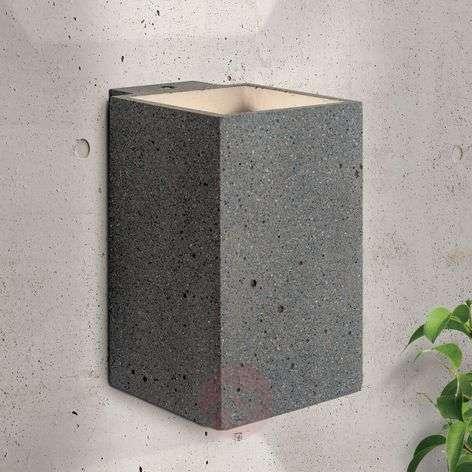 LED-ulkoseinävalaisin Sandro betonia, lämmin valk.-7255339-31