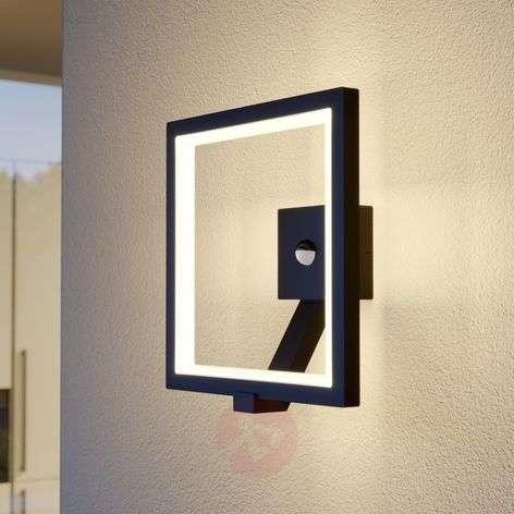 LED-ulkoseinävalaisin Square, grafiitinharmaa