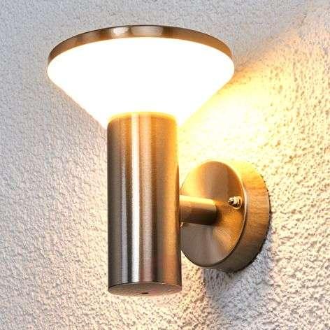 LED-ulkoseinävalaisin Tiga ruostum. teräksestä