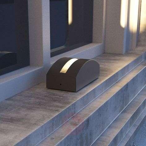 LED-ulkoseinävalo Marka, alumiini tummanharmaa
