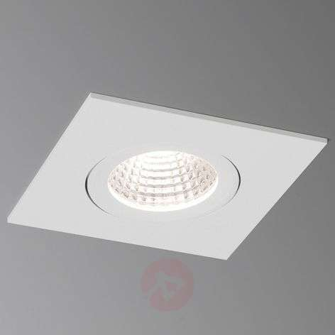 LED-uppospotti Agon Square 3000K 40°, valkoinen