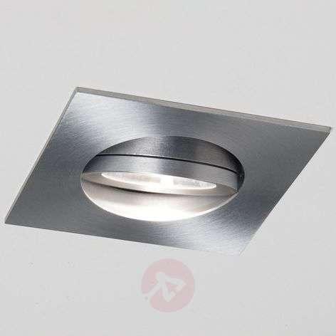 LED-uppospotti Agon Square alumiinia, 3000K, 40°