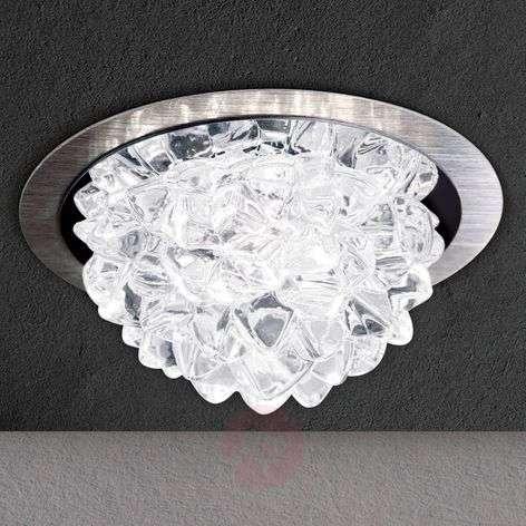 LED-uppovalaisin Cecil kristallivarjostimella